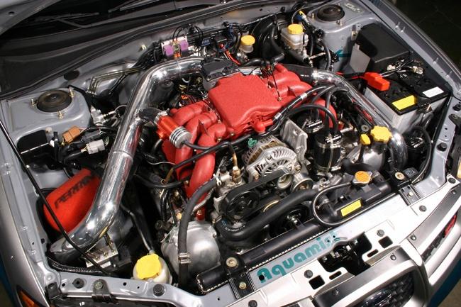 SEMA Subaru H6 Project Build | Blog | PERRIN Performance