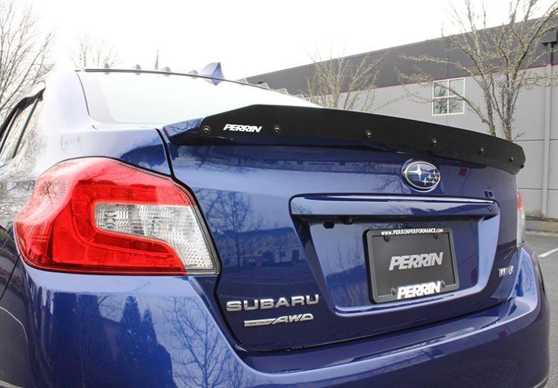 Perrin Gurney Flap for 2015-2017 Subaru WRX STI w// Low Profile Spoiler